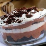 Chocolate brownie trifle