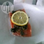 Citrus Salmon in Parchment Parcels