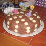 Really simple chocolate sponge cake