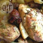 Perfect Rosemary Roasted Chicken with Sausage and Potatoes