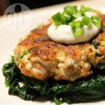 Crunchy Salmon Fish Cakes