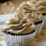 Gingerbread fairy cakes with cream cheese icing
