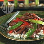 Beef and Mange-Tout Stir Fry