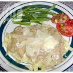 Rich and Creamy Beef with Mushrooms