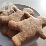Honey gingerbread biscuits