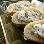 Pecorino and Thyme Crostini