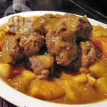 Beef Meatballs in Japanese Curry