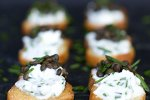Beluga Lentil Crostini Recipe