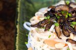 Spring Roll Salad Recipe with Roasted Shallot Peanut Sauce and Tamarind Dipping Sauce