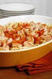 Shrimp Scampi you can make this easily in the microwave, have a filling dinner in just a few minutes.