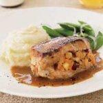Apple-Cranberry Stuffed Pork Chops