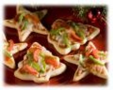 Christmas Pizza Minis recipe (Main Dish)