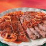 Sliced Steak Pizzaiola recipe (Meat)