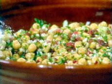 Chick Peas And Paneer Salad