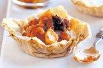 Spiced fruit & ricotta tarts