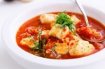 Mediterranean-style seafood soup