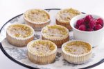 Mini ricotta & pine nut cheesecakes