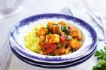 Vegetable curry with chickpeas & paneer