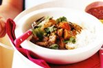 Quick lamb curry