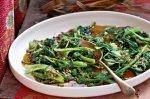 Stir-fried vegetable salad (Pad pak)
