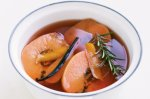 Pot-roasted quince