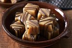 Chewy caramel cobbers