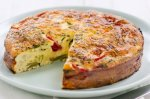 Chunky vegetable frittata