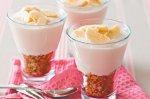 Yoghurt and muesli parfaits