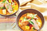 Red duck curry with pineapple and lychees