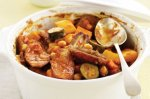 Sausage & vegetable hotpot